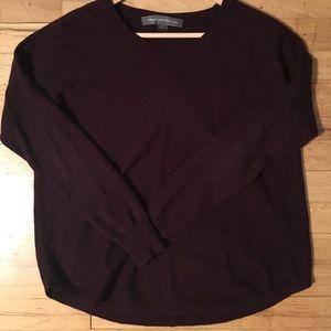 Maroon Long Sleeve Sweater